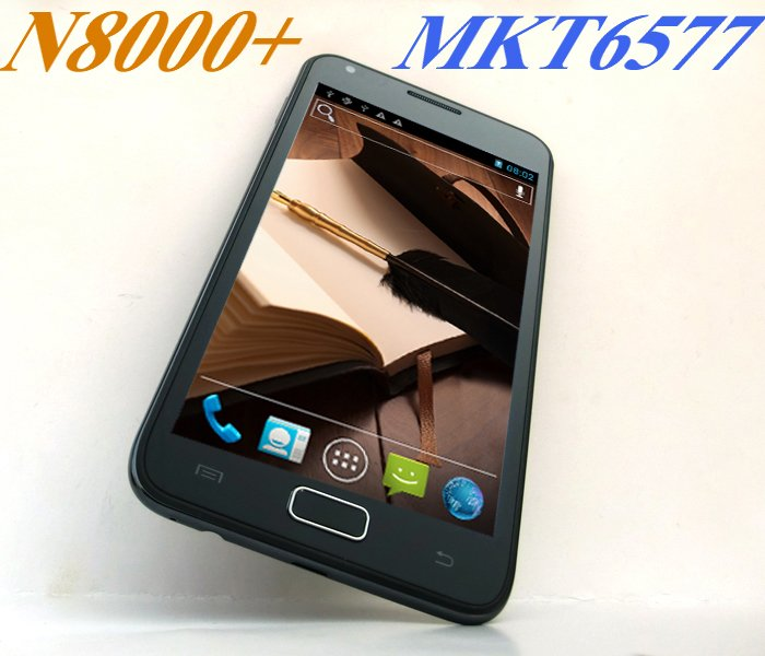 New arrivals Star N8000+ MTK6577 Dual core 1.0GHz Upgraded form N8000 faster high performance android 4.0.4 smartphone(China (Mainland))