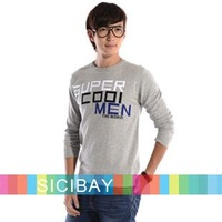 Free Shipping Super Cool MEN Pullover Winter Warm Sweaters  M0008