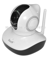 Wholesale EasyN H3-V10D IP camera 1.0 Megapixel Built-in IR-Cut support Mobile view Support 32G local memory, Free shipping