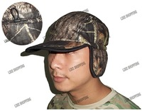 Earmuffs hat Maple leaf camouflage version multicam/Winter outdoor warm hat