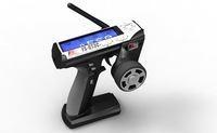 2012 Flysky Newest FS-GT3C GT3C 2.4G 3CH Gun RC Controller /w receiver , TX battery, USB cable, handle --Upgraded FS-GT3B GT3B
