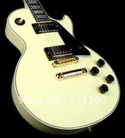 Free Shipping Brand New 2012 USA  Custom Vintage White Electric Guitar