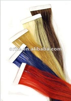 High quality brazilian straight hair t extension/easy attach hair extension