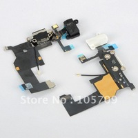 10PCS New Charger Connector Dock Flex Cable Replacement Fit For iPhone 5 5G 6th Hot JA D0357
