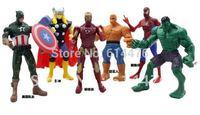 Free Shipping 360pcs/lot Marvel The Avengers Heros Movie Hulk+Captain America+Spiderman+Wolverine+Iron Man+The Thanos