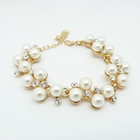Min Order $10 Accessories exquisite luxury fashion  pearl bracelet