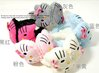Free shipping! New cute winter lovely hello kitty children's warm earmuffs with bowknot,5 colors ear muff,wholesale,10pcs/lot
