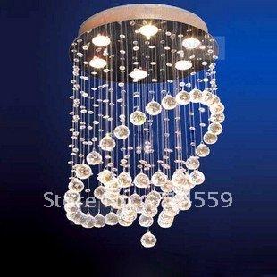 lights Modern Crystal Lamp Crystal chandeliers Simple lighting fixturesAX8853(China (Mainland))