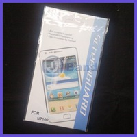 200pcs/ot For Samsung Galaxy Note II N7100 Galaxy Note 2 Clear Screen Protector With Retail Package DHL Free Shipping
