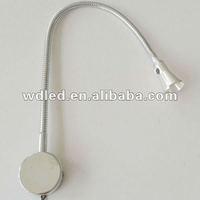 Hot sale 1w/3w flexible LED reading lamp, desk lamp