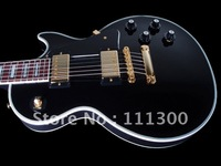 Free Shipping Newest Black SOLID Black Beauty Electric Guitar From China