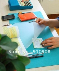 Multi-function felt table mat + Desktop finishing receive basket 4 set(China (Mainland))