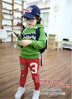 free shipping wholesale 2012 new style boy and girl fashion type Children pants