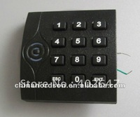 Promixity keypad card reader for access control system,support 13.56Mhz IC card