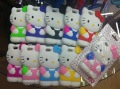 Free DHL shipping 3D soft Cute Cartoon Hello Kitty Case Cover For iPhone 5 5G HOT