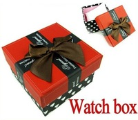 Direct Marketing watch box watch the box with watch case Free shipping 20pcs/lots