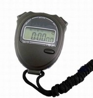 Wholesale - Free Shipping 1 Piece New Professional Chronograph Digital Timer Stopwatch Sport Counter Black