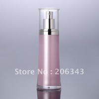120ml pink acrylic    press pump lotion bottle,cosmetic container,Cosmetic Packaging