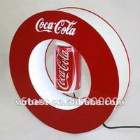 Ring form can display, rotating advertising display