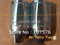 Wholesale + Low Freight European Twins Chrome Soap Dispenser For Home /Star Hotal Manual Double Shower/Shampoo/Soap dispenser