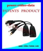 1ch Video,Power Data UTP video balun Transceiver
