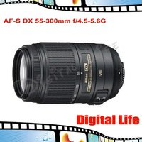 Nikon AF-S DX 55-300mm f/4.5-5.6G ED VR Portrait Telephoto Zoom Lens for D90/D7000/D300S/D40/D70/D80/D3100/D5100/D3X/D3S