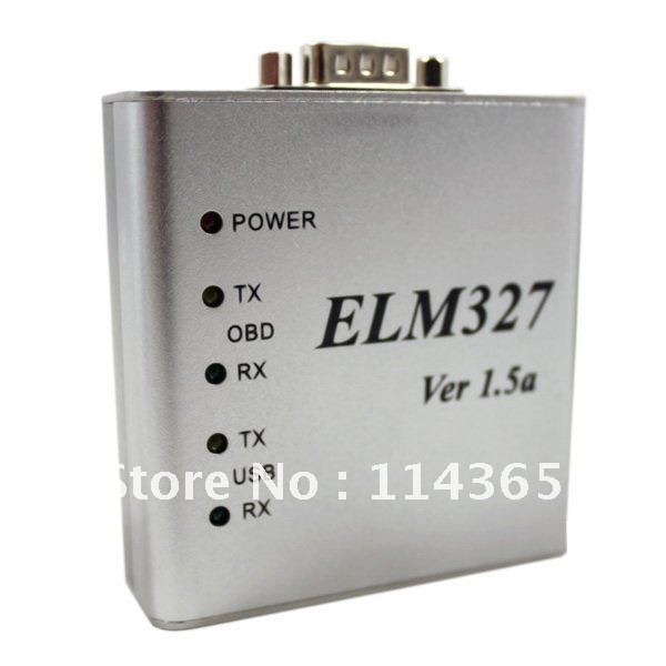 ELM 327 1.5V USB CAN-BUS Scanner ELM327 Software free shipping(China (Mainland))