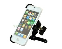 Air Vent Car Holder For iPhone 5 5g , Adjustable holder GPS car mount