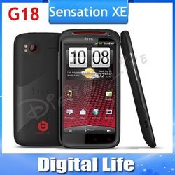 G18 Beats Audio Sensation XE Original HTC Sensation XE Z715E G18 Android 8MP WIFI GPS 4.3''TouchScreen Unlocked Cell Phone(China (Mainland))