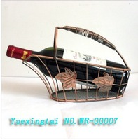 Manufacturers wholesale Bronze / Iron wine rack / wrought iron wine rack / the European wine rack / holiday gift