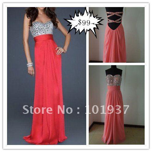 Name Brand Prom Dress