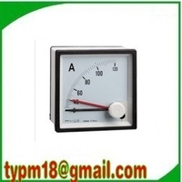 Free shipping!(2pcs) AC Analog Ampere Meter Current Amp Ammeter 96*96mm Panel meter