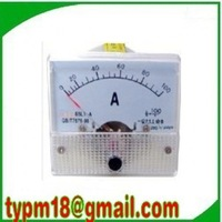 Free shipping!(5pcs) AC Analog Ampere Meter Current Amp Ammeter 96*96mm Panel meter