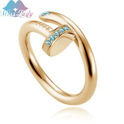 Free Shipping MIN Order $15 mixed Wholesales 18K Gold Plated Imported Austrian Crystal fashion Jewelry The Rings 2909
