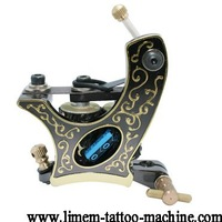 Free delivery,  10 package coil aluminum alloy liner material tattoo machine gun supply silver, top Gun