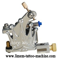 Wholesale -New Top Handmade Crystal Crown Tattoo Machine Gun machine supply  Shader  free shipping