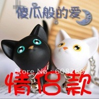 freeshipping! Wholesale cat lovers Keychain / Kate cat Keychain