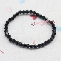 Square stone sugar multi-colored bracelet bohemia bracelet lovers 4m bead tip crystal bracelet