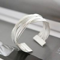 Women's wide bracelet 2011 new fashion bracelet knitted twisted vintage jewelry