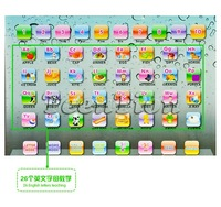 hot sales alphabet Y-pad ypad tablet Table computer English letter ABC/Number kids learning machine educational toys
