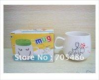 DHL Free shipping 100pcs/lot Reusable Togo Mug Coffee Cup Green Eco Friendly