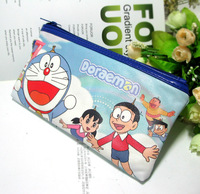 New arrival DORAEMON cartoon pencil case stationery bags storage bag
