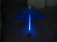 free shipping New Novelty Fashion LED Night Light umbrella,LED Light umbrella,long handle Led unbrella Romantic Umbrella in Rain