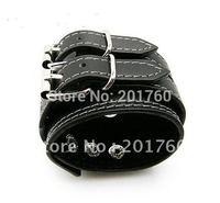 PU Leather  Bangle Bracelet hip hop rock punk  monster Bangles  Men's Bracelets mix order  free shiping