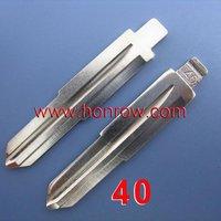 Wholesale  price Chevrolet Remote Key Blade 40#