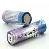 TrustFire 18650 2000mAh 3.7V Li-ion Rechargeable Battery with Protected PCB (1pair)