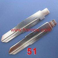 Wholesale  price Chrysler A5 A3 Remote Key Blade 51#