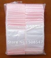 zipper top bag 500PC Ziplock bag 1.96x2.75 inch (5X7CM) Reclosable Clear  opp seal bag