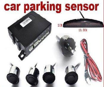 Direct Marketing LED Car Parking sensors,Car LED Parking Reverse Backup Radar System with 4 Sensors car parking sensors system