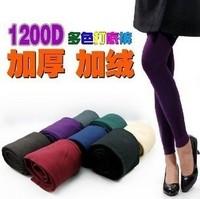2014 Fashion Warm Winter Leggings Multicolour Velvet Women Leggings Ladies Pants KC1200 Free Shipping Over$15
